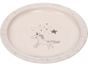 Lässig 4babies Plate with Silicone Little Chums cat