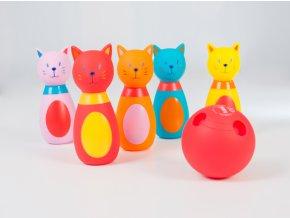 Ludi Bowling pro nejmenší Kočičky