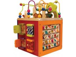 B-Toys Interaktivní krychle Zany Zoo