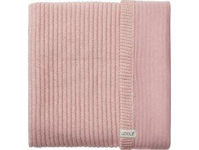 Joolz Essentials deka pletená žebrovaná (Barva Pink)