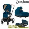 Cybex Priam Rosegold 2020 Mountain Blue.