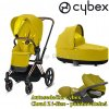 Cybex Priam Rosegold 2020 Mustard Yellow.