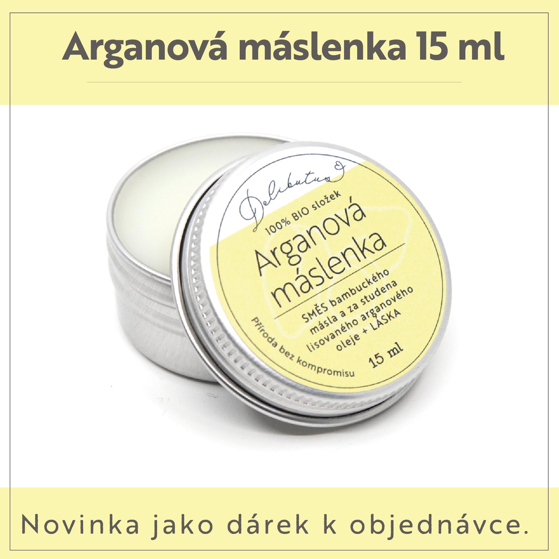 Arganová máslenka
