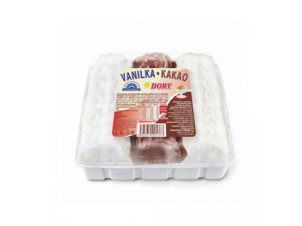 Torta vanilka - kakao 615ml