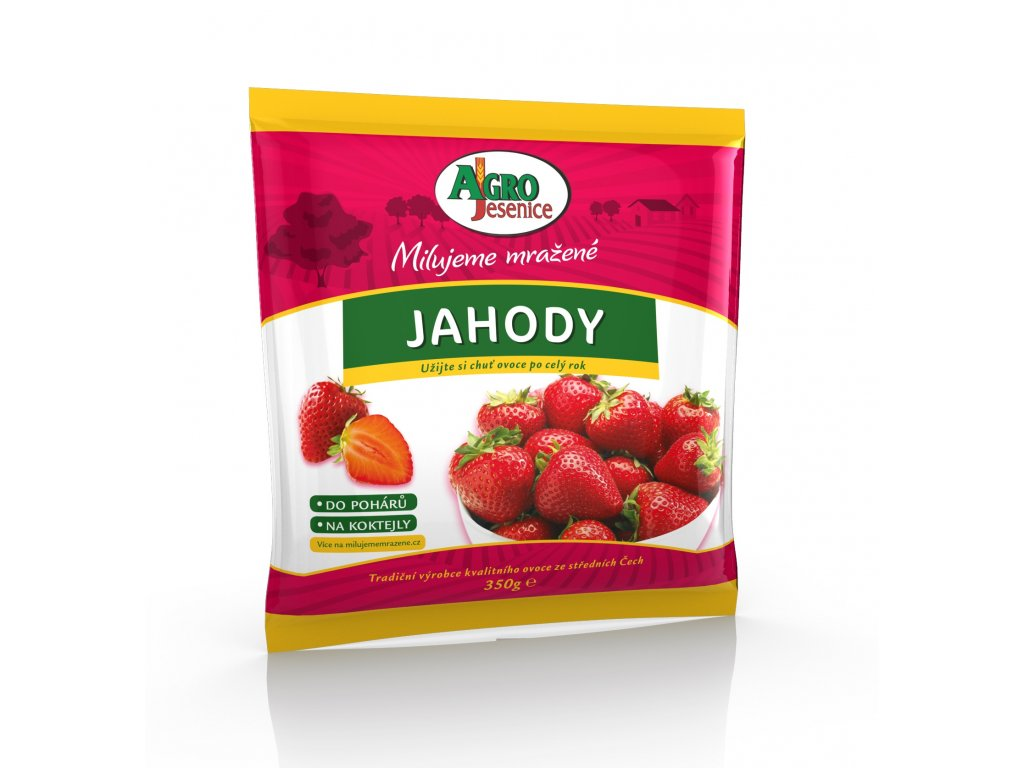 AGRO ovoce jahody 200g