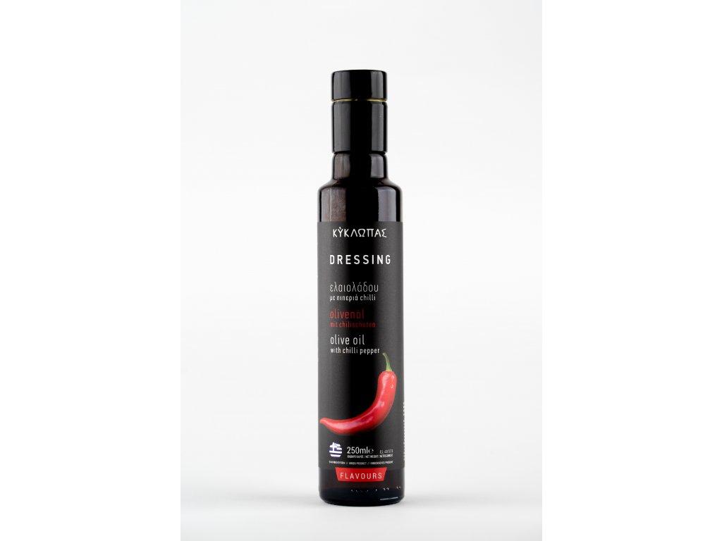 Olivový dresing Kyklopas Chili 0,25l