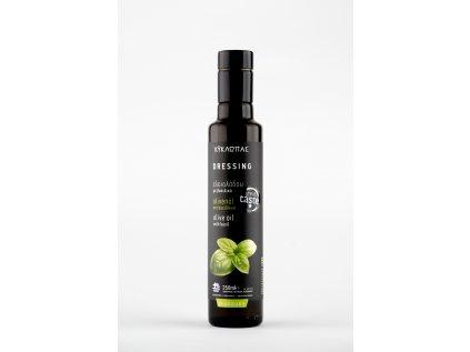 Olivový olej Kyklopas lisovaný s bazalkou 0,25l
