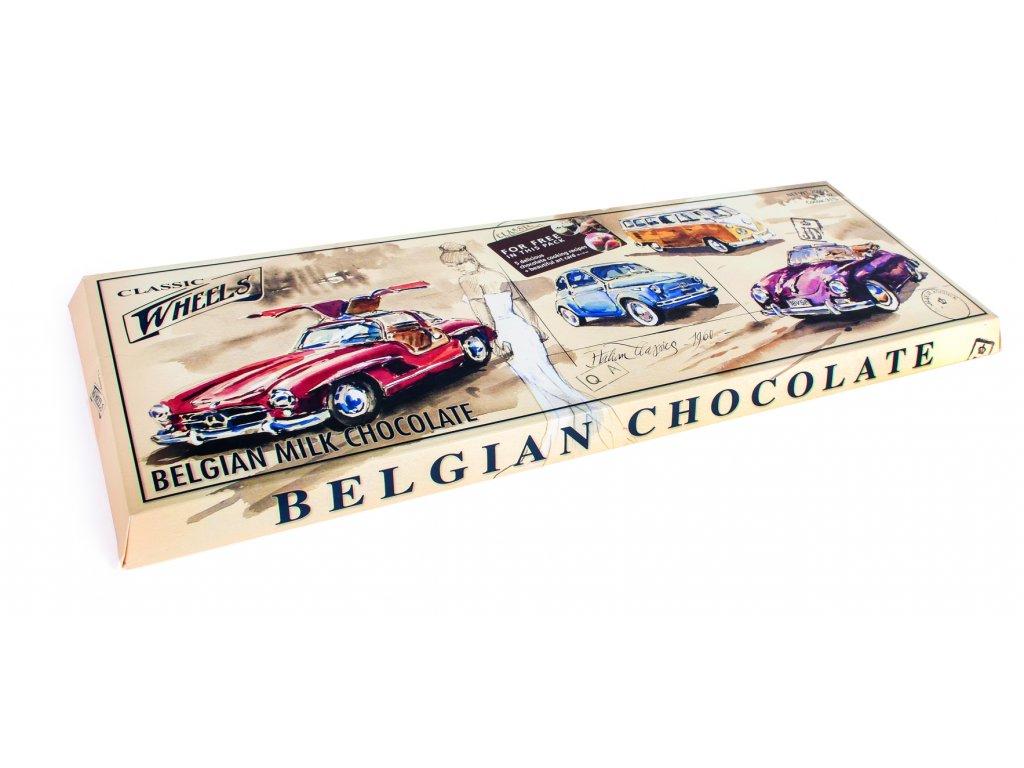 WH21 Mléčná čokoláda Wheels 2000g