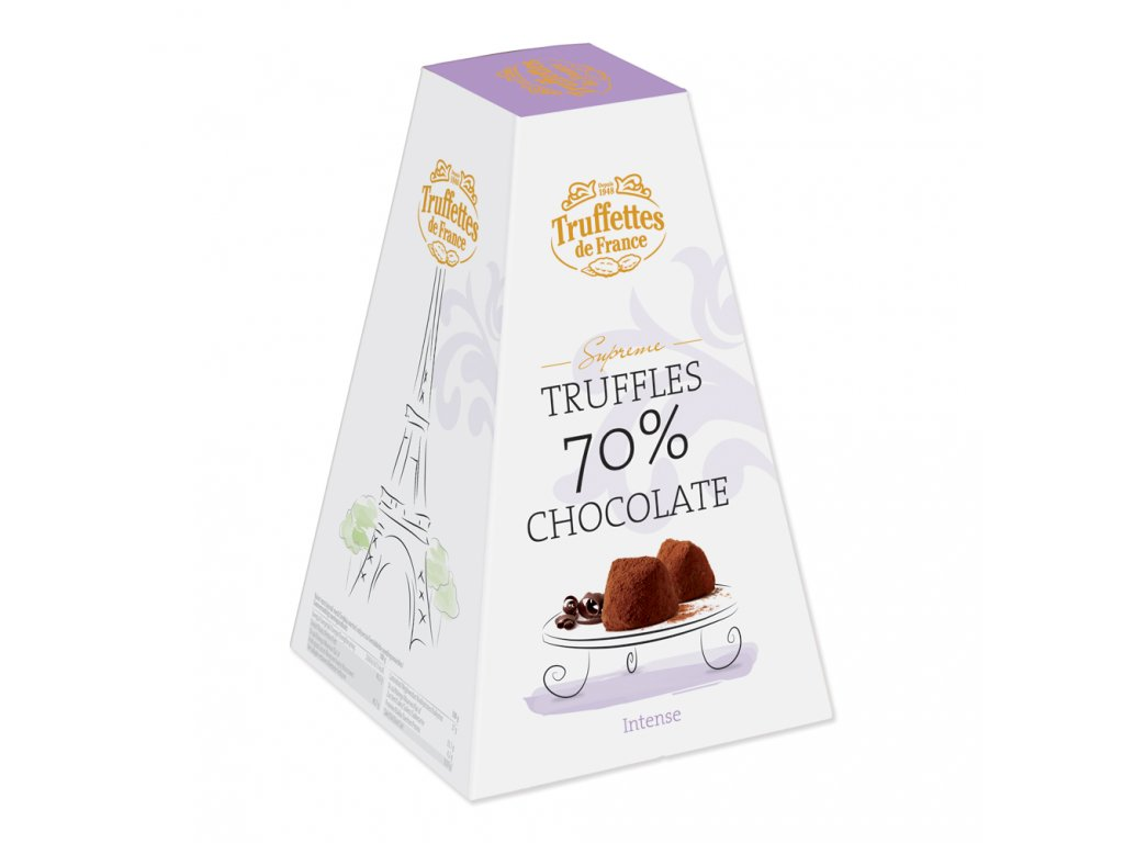 CH11 Francouzské čokoládové lanýže Supréme 70% Truffettes de France Chocmod 200g