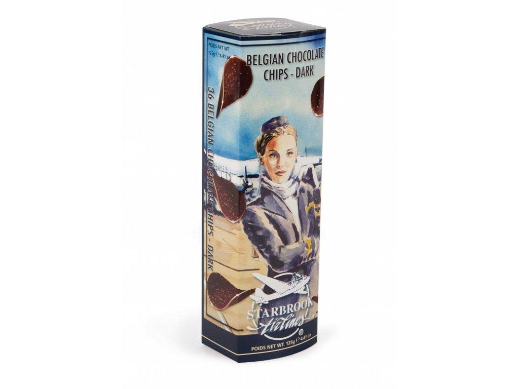 Starbrook Airlines hořké čokoládové chipsy 125g