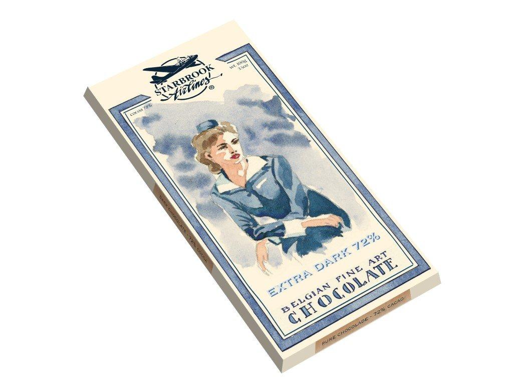 ST04 Hořká čokoláda Starbrook Airlines 100g