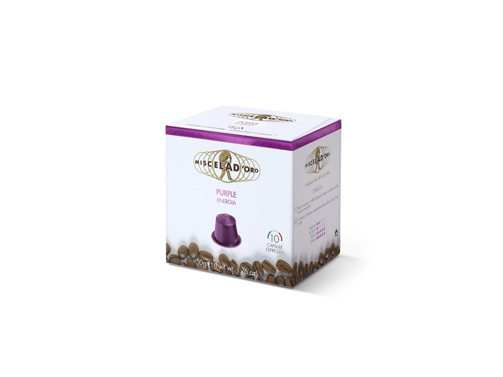 MIO02 Káva v kapslích Espresso Intenso Miscela d´Oro 10x5g