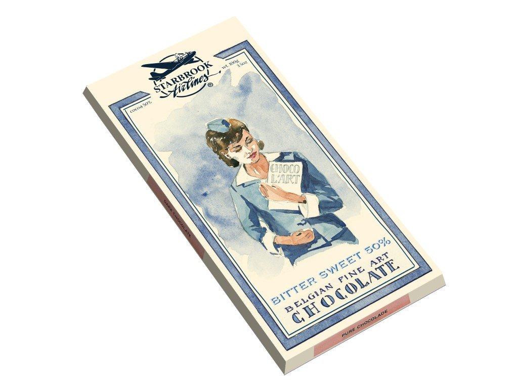 ST02 Hořko sladká čokoláda Starbrook 100g
