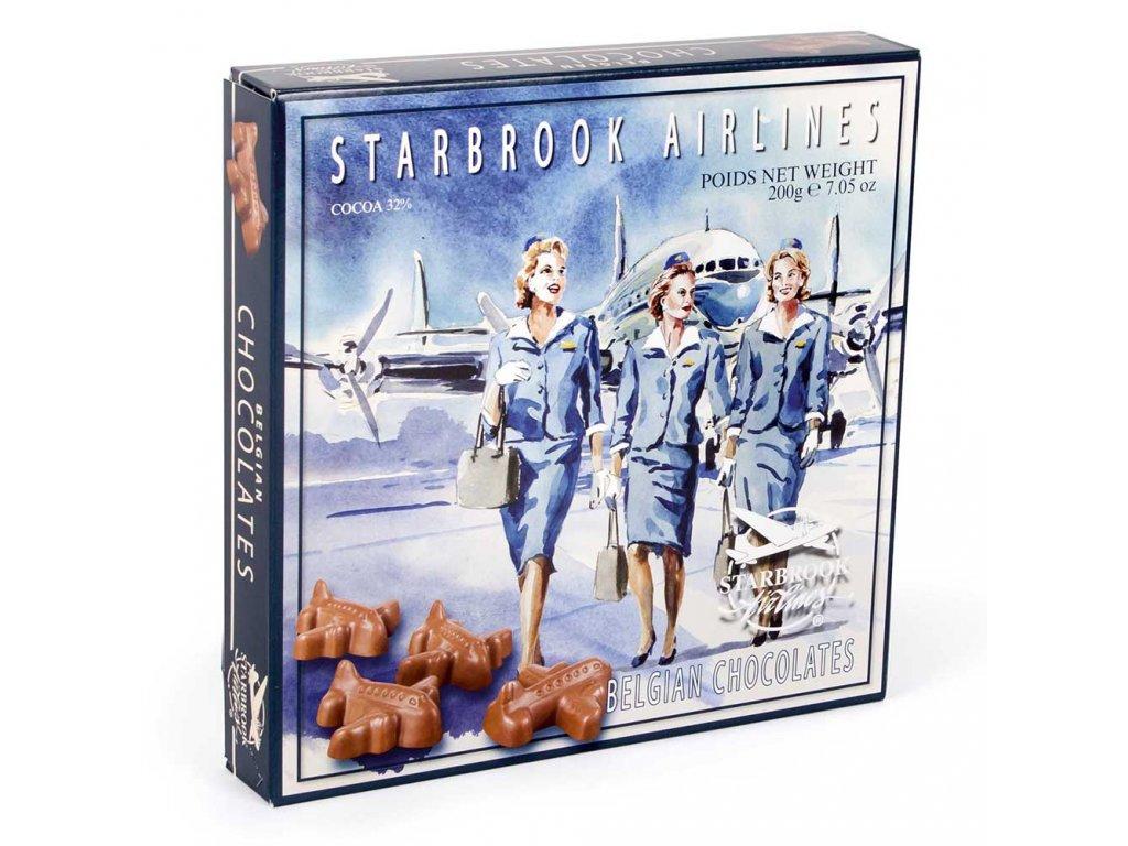 ST15 Letadýlka z mléčné čokolády Starbrook 200g