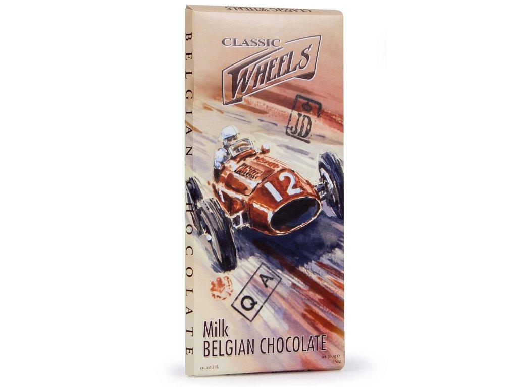 WH01 Mléčná čokoláda Wheels 100g