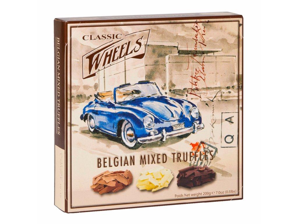 WH15 Směs čokoládových lanýžů Wheels 200g