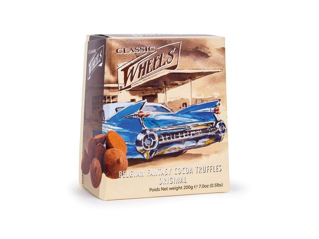 WH09 Čokoládové lanýže Wheels 200g