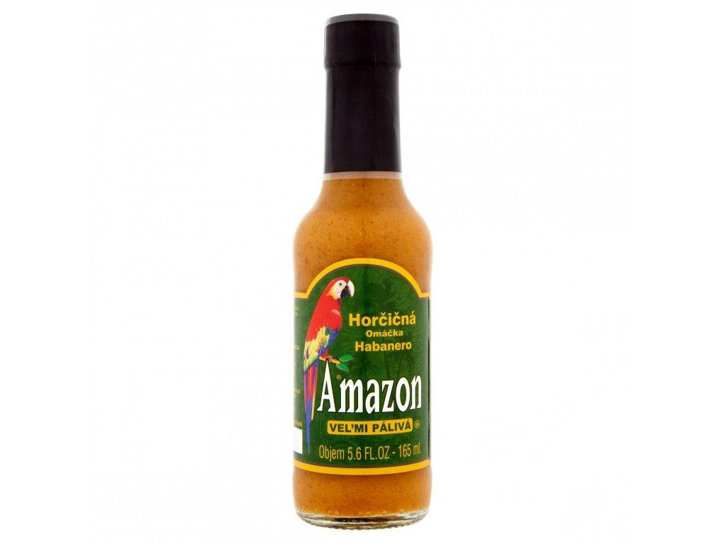 Amazon omáčka hořčicová Habanero 155ml