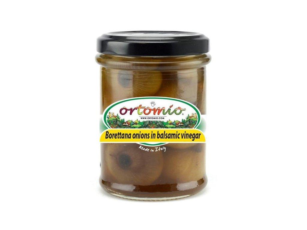 OR04 Cibulku Borettana v balzamiku Ortomio 212ml