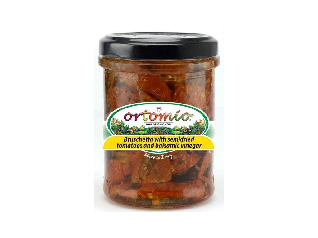 OR07 Směs na bruschettu ze sušených rajčat a balzamika Ortomio 180g