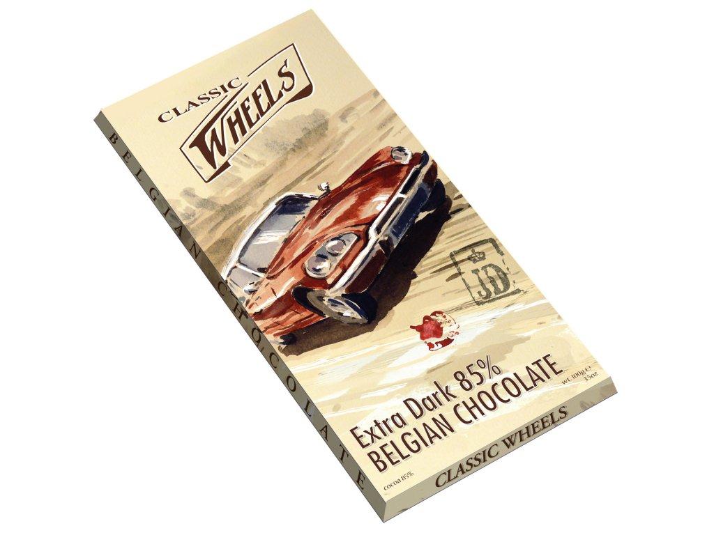 WH99 Extra hořká čokoláda 85% Wheels 100g