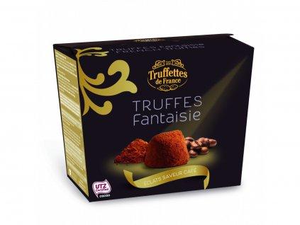 CH05 Francouzské čokoládové lanýže s příchutí cappuccino Truffettes de France Chocmod 200g