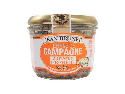 Jean Brunet terina s pálivou paprikou Espelette 180g