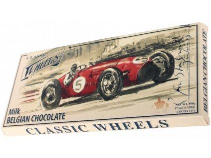 WH16 Mléčná čokoláda Wheels 400g