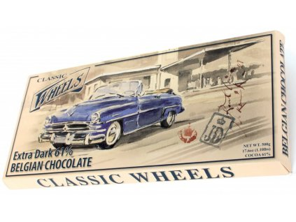 WH17 Hořká čokoláda Wheels 400g
