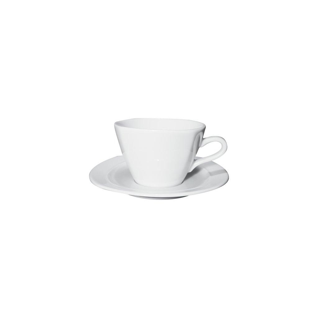 28895 Oggi šálek na caffélatte, čokoládu s podšálkem Oggi