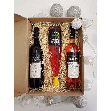 """Dárkový balíček ,,Vášnivá vinařka"""""""