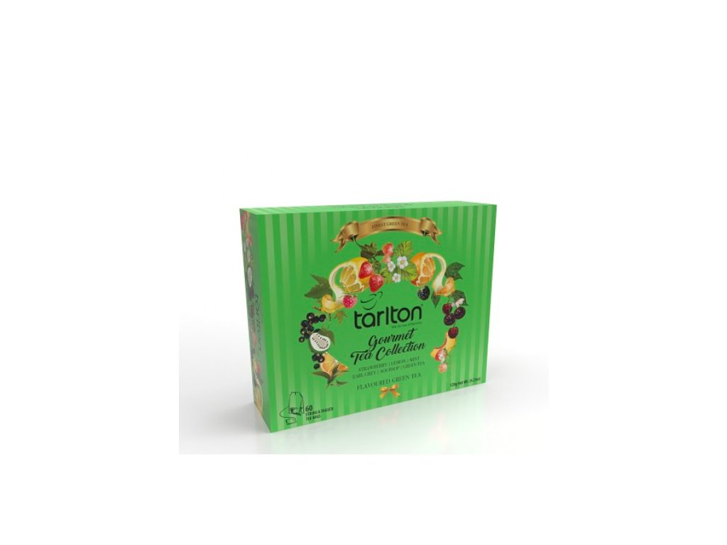 delishka tarlton gourmet tea collection green