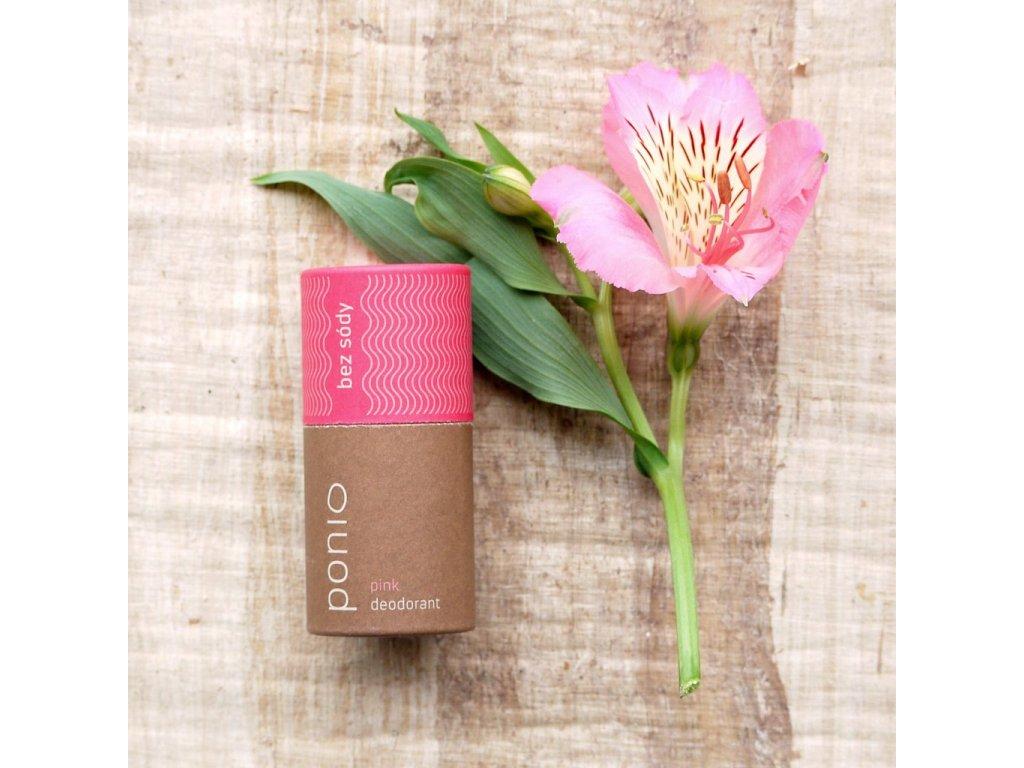 delishka ponio deodorant pink