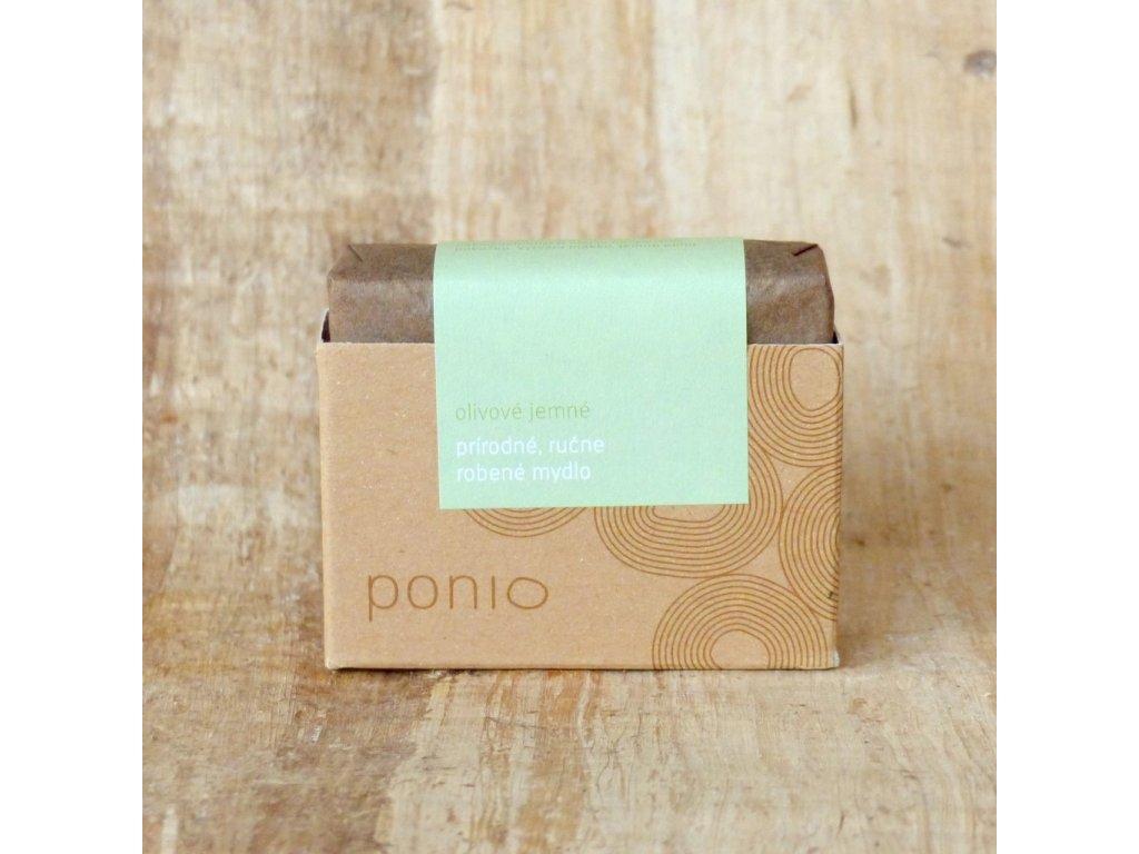delishka ponio mydlo olivove