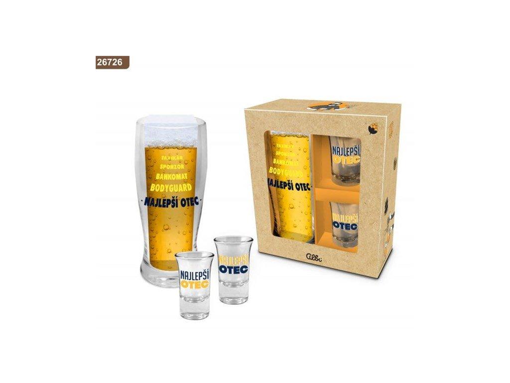 Pivný set - Najlepší otec