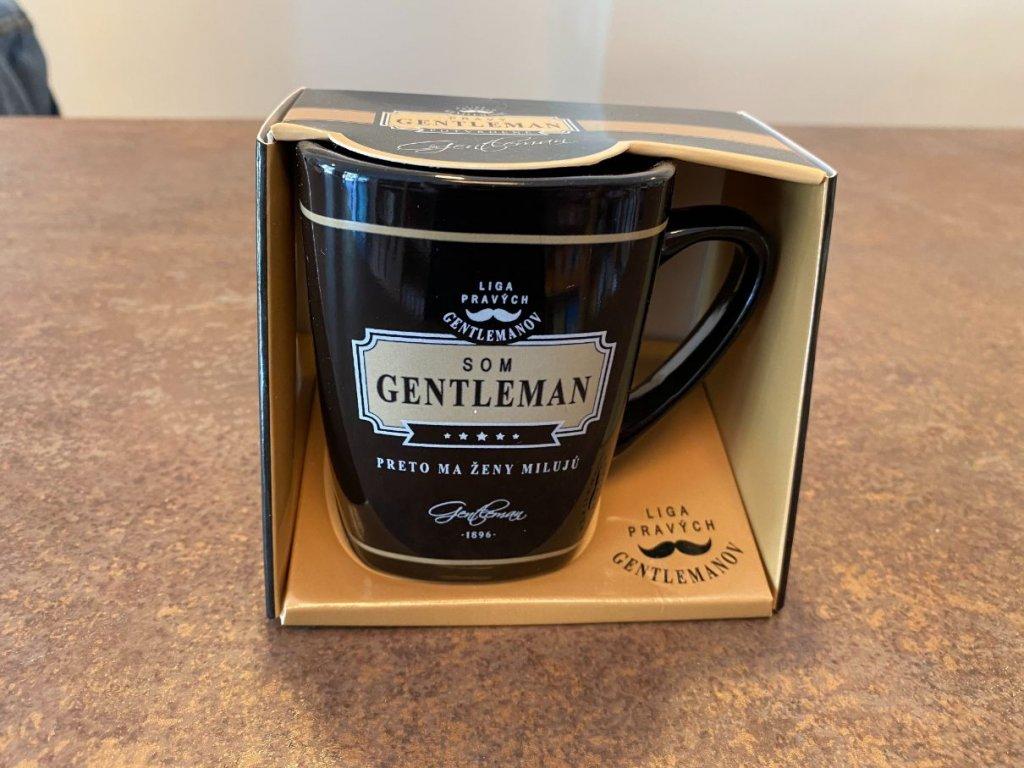 Hrnček na kávu Som gentleman