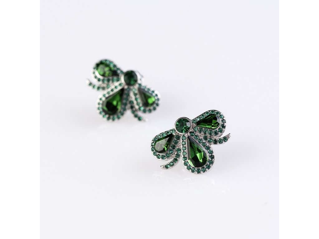 delishka petra toth majolika nausnicky smaragdove
