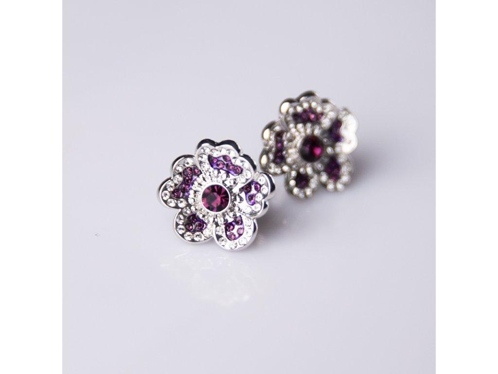 delishka petra toth nausnice fialove kvety