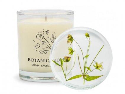 delishka botanicandle aloe skorica lotos