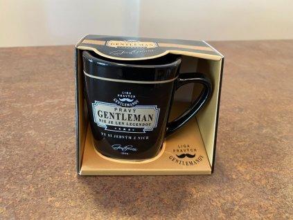 Hrnček na kávu Gentleman nie je legendou