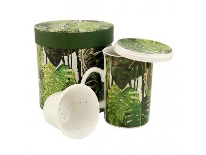 delishka tea hrncek so sitkom foglie