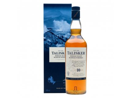 delishka whisky talisker 10yo