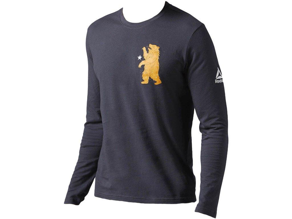 9754e3a31cf19 Reebok CrossFit® Pánske tričko s dlhým rukávom B45193 - Deltastore