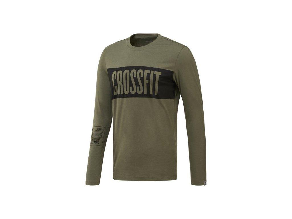 a3fe2e07630dc Reebok CrossFit® Pánske tričko s dlhým rukávom CF4556 - Deltastore