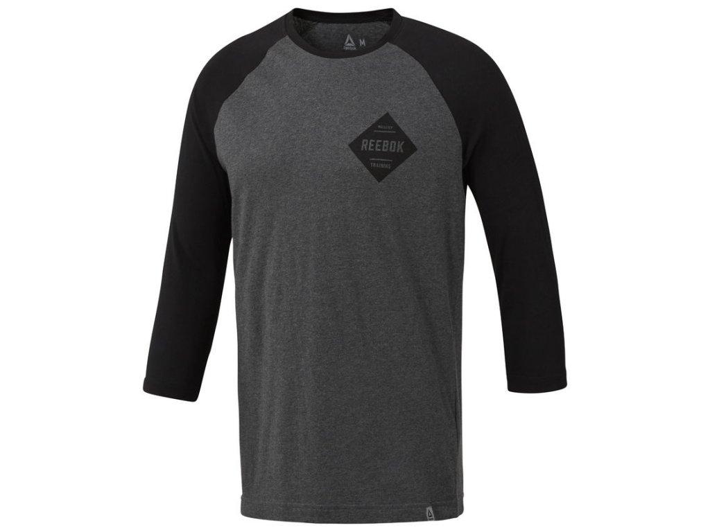 488d4a074e Reebok CrossFit® Pánske tričko s dlhým rukávom DH3760 - Deltastore