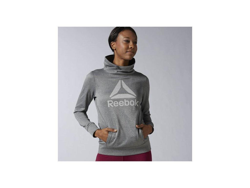 Reebok CrossFit® Dámska fleecová mikina AY1948 - Deltastore fb098419f1