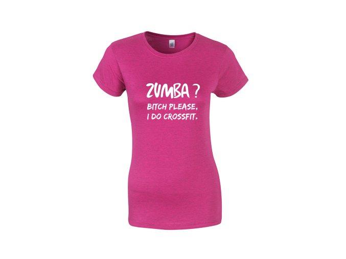 Dámske tričko DeltaFit Zumba