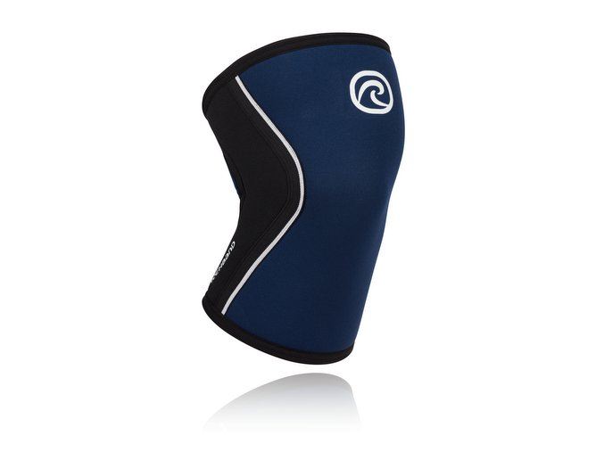 105308 Rehband Rx Line Knee Support 5mm Navy lowres front