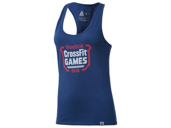reebok damsky top crossfit games crest tank dn2414