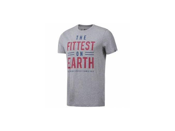 Reebok CrossFit® Pánske tričko Crossfit Games Fittest DN2390